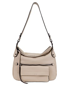 T Tahari Danielle Leather Hobo