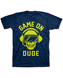Jem Big Boys Game On Dude T-Shirt