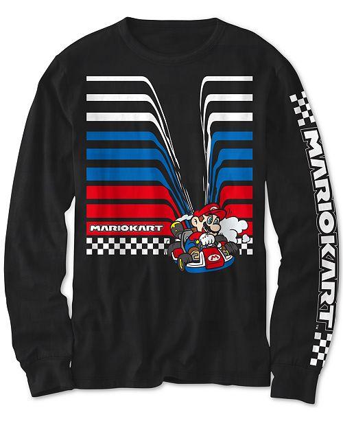 Nintendo Big Boys Mario Kart Drag T-Shirt