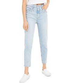 Levi's® Embellished High-Waisted Ankle Jeans