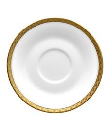 Noritake  Charlotta Gold Saucer
