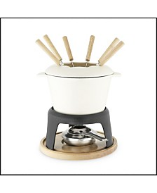 Twine Cast Iron Fondue Set