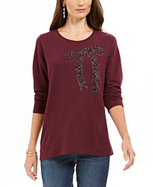 Embellished Whimsy Sweatshirt, Created For Macy's