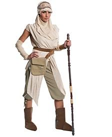 Buy Seasons Women's Star Wars: The Force Awakens Rey Grand Heritage Costume