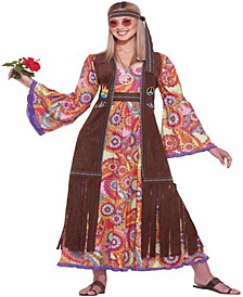 Buy Seasons Women's Hippie Love-Child Costume