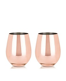 Summit Stemless Wine Glasses