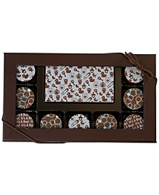 10-Pc. Baby Boy  Gourmet Chocolate Truffles