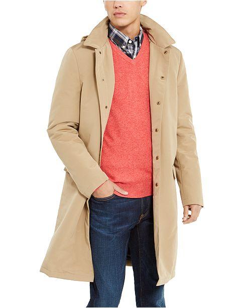 Tommy Hilfiger Men's Modern-Fit Albany Raincoat