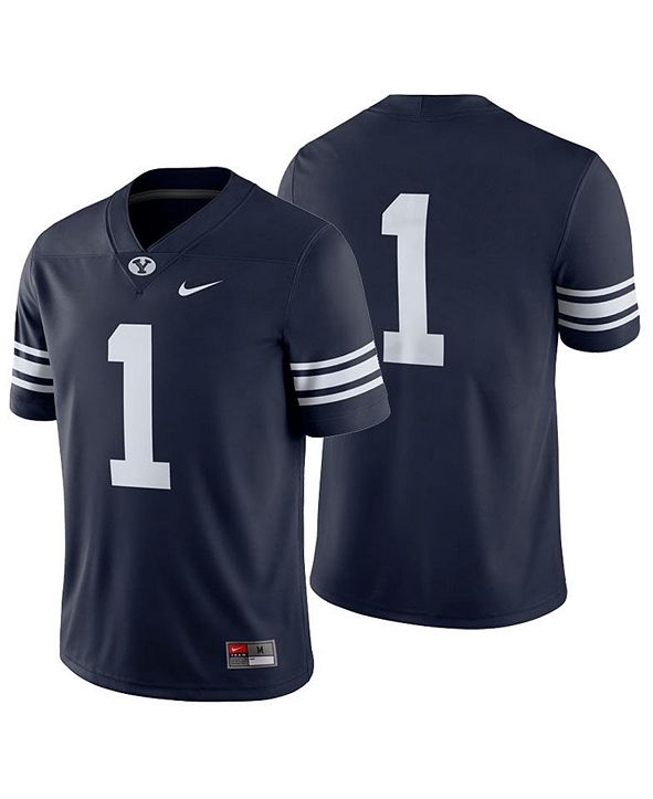 Nike Men's Brigham Young Cougars Football Replica Game Jersey