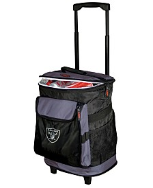 Logo Chair Oakland Raiders Rolling Cooler