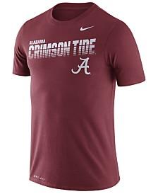 Nike Men's Alabama Crimson Tide Legend Sideline T-Shirt