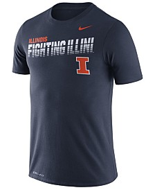 Nike Men's Illinois Fighting Illini Legend Sideline T-Shirt