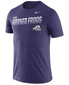 Nike Men's Texas Christian Horned Frogs Legend Sideline T-Shirt