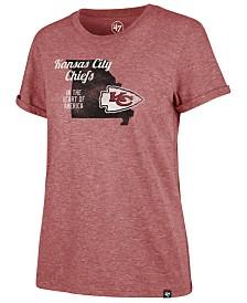 '47 Brand Women's Kansas City Chiefs State Love T-Shirt