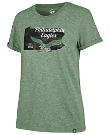'47 Brand Women's Philadelphia Eagles State Love T-Shirt