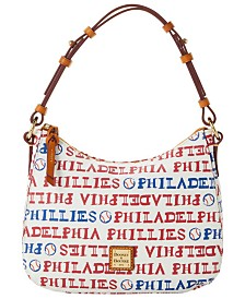 Dooney & Bourke Philadelphia Phillies Small Kiley Hobo Bag