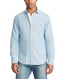 Men's Classic Fit Chambray Shirt