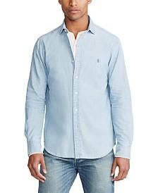 Polo Ralph Lauren Men's Classic Fit Chambray Shirt