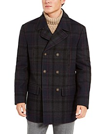 Luke Wool-Blend Classic-Fit Peacoat