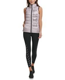 DKNY Sport Fleece-Lined Vest