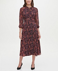 Paisley Midi Dress