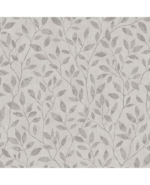 """Engblad & Co Engblad Co 21"""" x 396"""" Willow Silhouette Trail Wallpaper"""