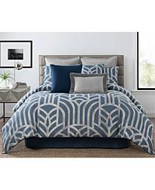 Mayfair 4 Piece King Comforter Set