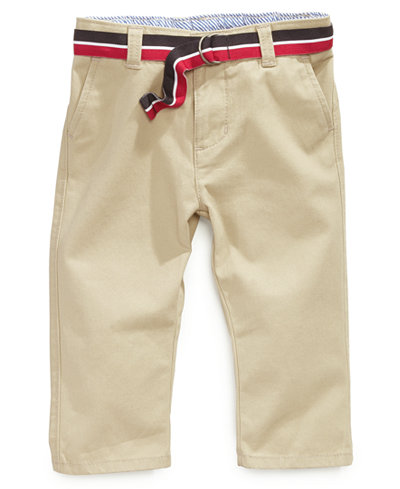 Tommy Hilfiger Baby Pants, Baby Boys Chester Khaki Pants - Sets ...