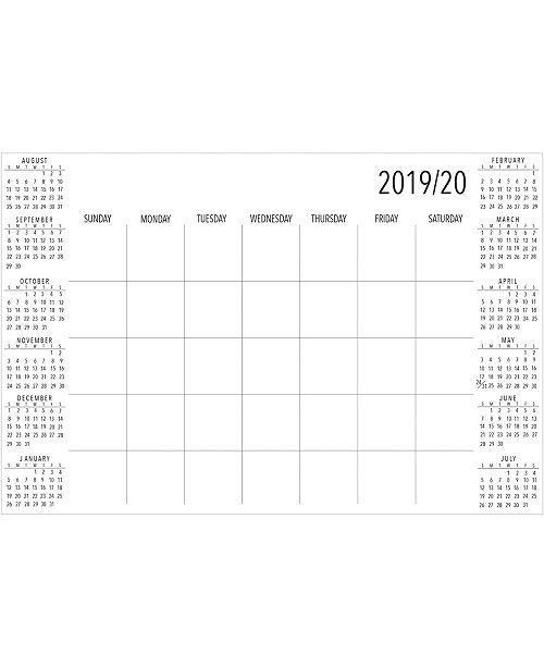 WallPops 2019-2020 Academic Calendar