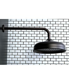 Trimscape 10-Inch Shower Head with 17-Inch Ceiling Mounted Shower Arm in Oil Rubbed Bronze