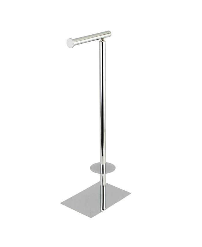 Kingston Brass - Claremont Dual Freestanding Toilet Paper Stand in Polished Chrome