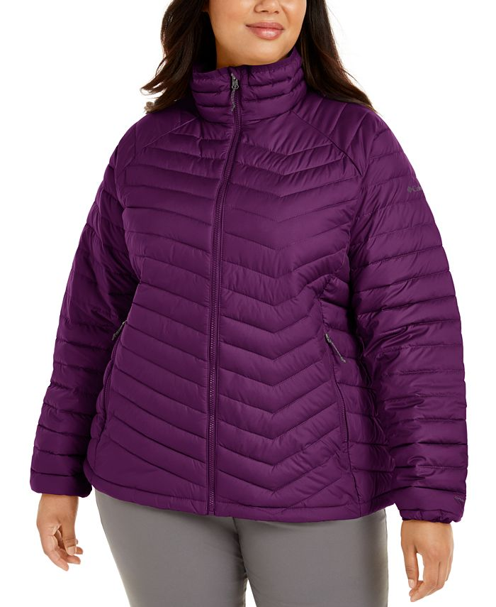 Columbia - Plus Size Powder Lite Quilted Puffer Jacket