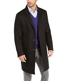 Men's Classic-Fit Cashmere Overcoat