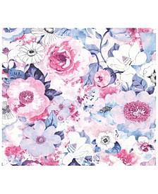 "20"" x 369"" Baldwin Watercolor Floral Wallpaper"
