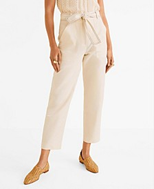 Cotton Culotte Trousers