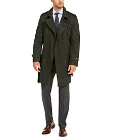 Men's Classic-Fit Lowry Double-Breasted Raincoat