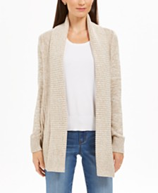 Charter Club Marled Shawl-Collar Cardigan, Created For Macy's