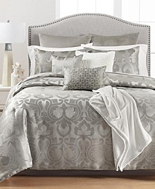 CLOSEOUT! Chateau Antique Filigree 14-Pc. King Comforter Set, Created for Macys