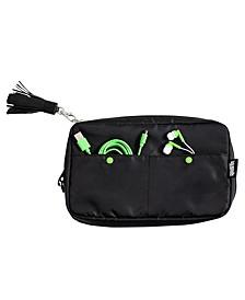 Compact 6-Pocket Tech & Phone Accessories Organizer