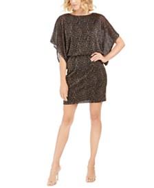 Jessica Howard Leopard-Print Sheath Dress