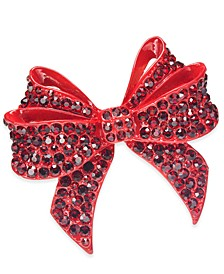 INC Stone Studded Bow Hair Barrette, Created For Macy's