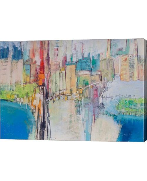 "Metaverse City 14 by Jennifer Gardner Canvas Art, 27.75"" x 20"""