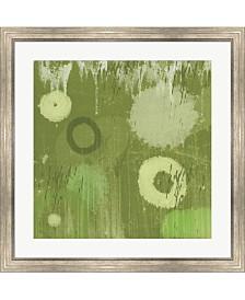 """Metaverse Verdure by Erin Clark Framed Art, 30"""" x 30"""""""