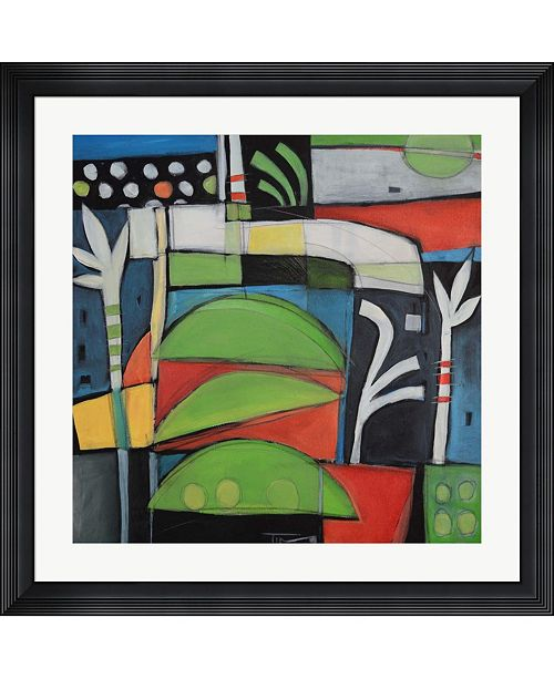 "Metaverse Still Life with Lime Wedges by Tim Nyberg Framed Art, 32"" x 32"""