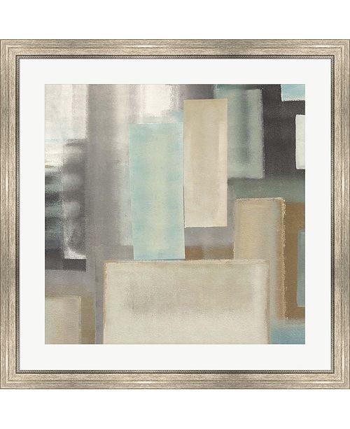 "Metaverse Aqua II by Italo Corrado Framed Art, 32"" x 32"""