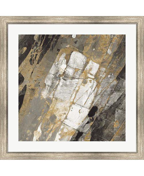 "Metaverse Hot Lava Neutral by Albena Hristova Framed Art, 32"" x 32"""
