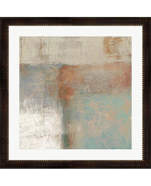 """Metaverse Velvet Desert I by Ruggero Falcone Framed Art, 32"""" x 32"""""""