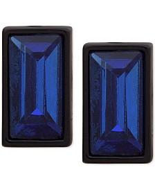 DKNY Baguette-Crystal Stud Earrings