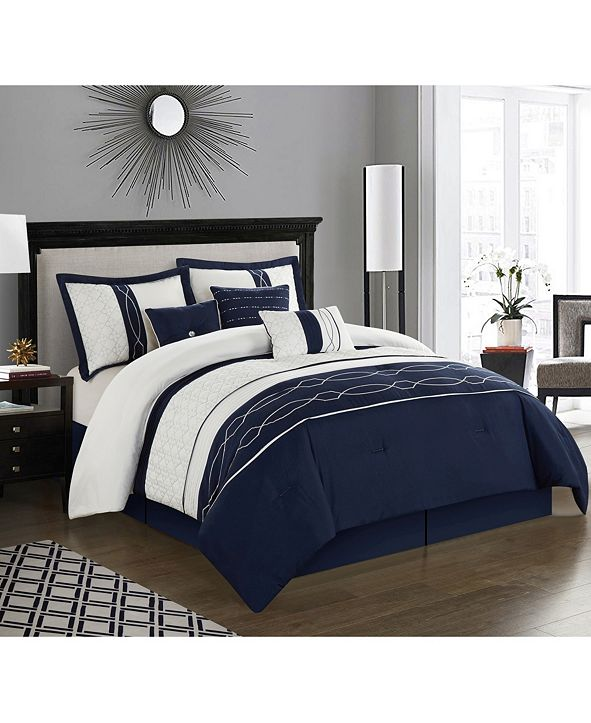 Nanshing Penley 7-Pc. California King Comforter Set