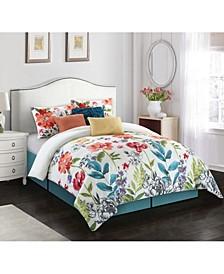Prair 7-Piece  Queen Comforter Set